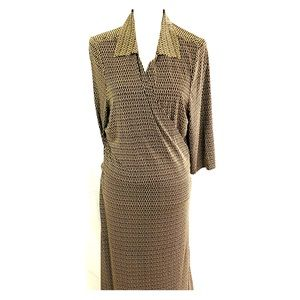Alfani wrap dress